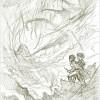 The Amber Spyglass - sketch