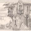 Sketch for Assassin's Apprentice endpapers