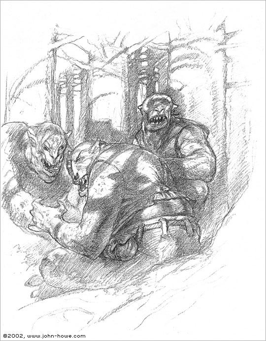 John Howe :: Illustrator - Portfolio :: Home / From Bag ...
