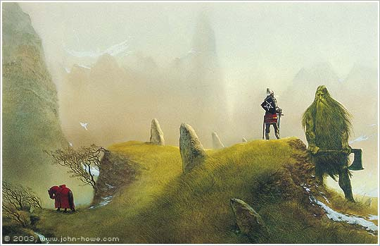 john howe illustrator portfolio home myth magic sir sir gawain and the green knight
