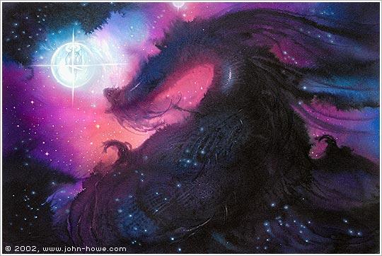 [présentation d'un artiste] John Howe DRAGONS_Universe