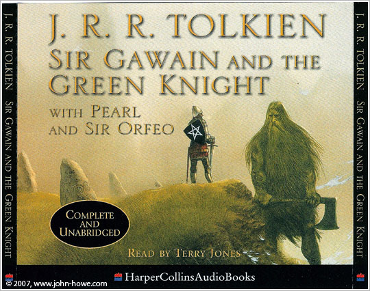 john howe illustrator portfolio home printed matter sir gawain and the green knight audio cd set front