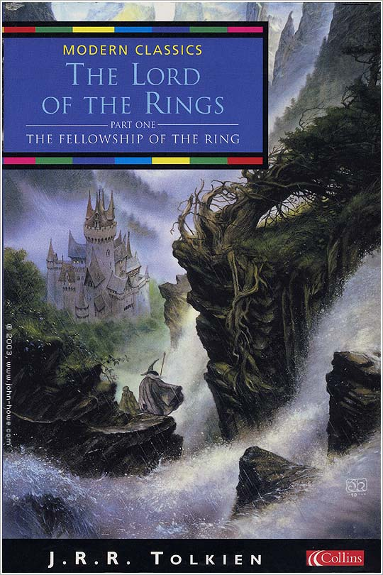 Lord of the Rings Fellowship Collins edition book