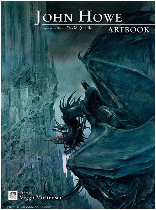 John Howe (grand illustrateur de Tolkien) Couv-v1-port