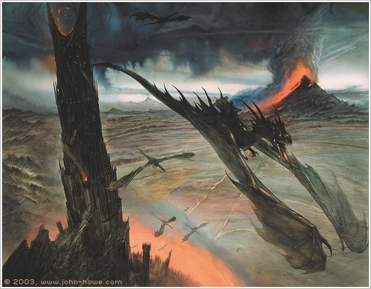John Howe Updates his Portfolio with '-The Hobbit: AUJ ...