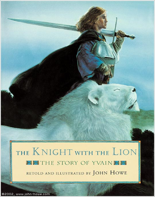 Yvain the knight with the lion