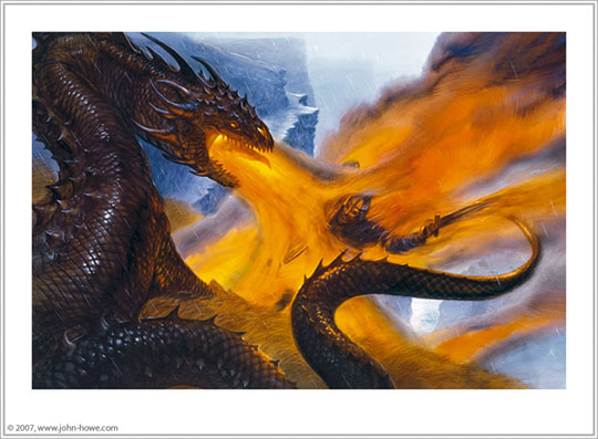 essay on beowulf and the dragon This free english literature essay on essay: beowulf is perfect for english literature to him but only one stays with him as he battles the dragon.