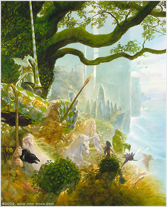 John Howe :: Illustrator [ Retail Therapy ] :: Home / Limited ...